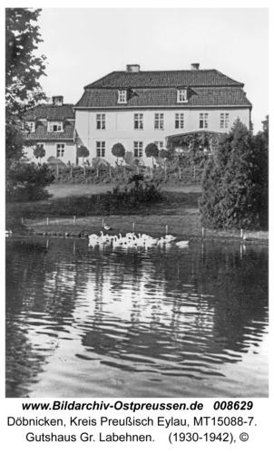 Döbnicken, Gutshaus Gr. Labehnen