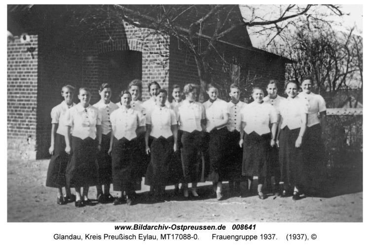 Glandau, Frauengruppe 1937