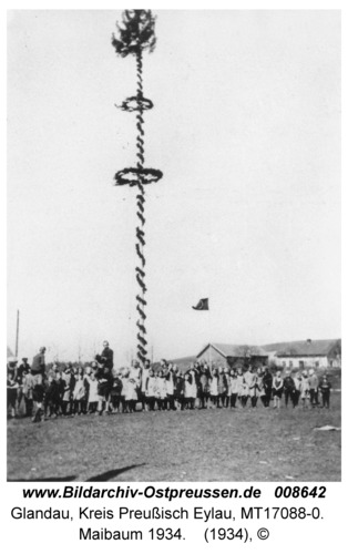 Glandau, Maibaum 1934