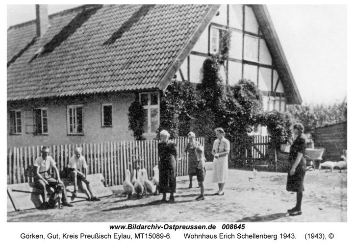 Görken, Wohnhaus Erich Schellenberg 1943