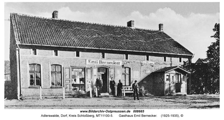 Adlerswalde, Gasthaus Emil Bernecker