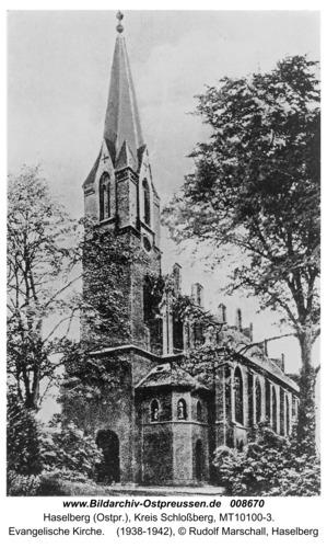 Haselberg, Evangelische Kirche