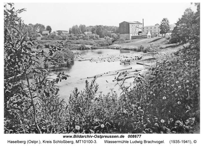 Haselberg, Wassermühle Ludwig Brachvogel