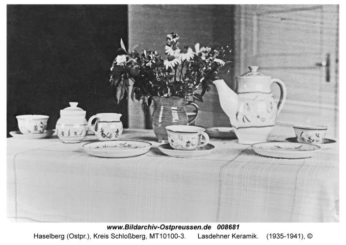 Haselberg fr. Lasdehnen, Lasdehner Keramik