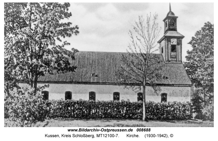 Kussen, Kirche