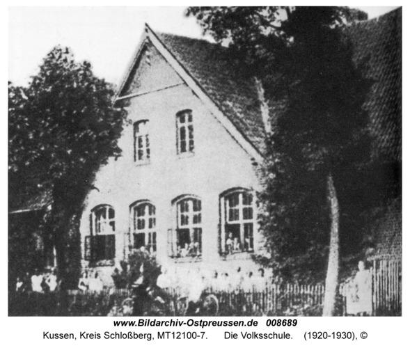 Kussen, Die Volksschule