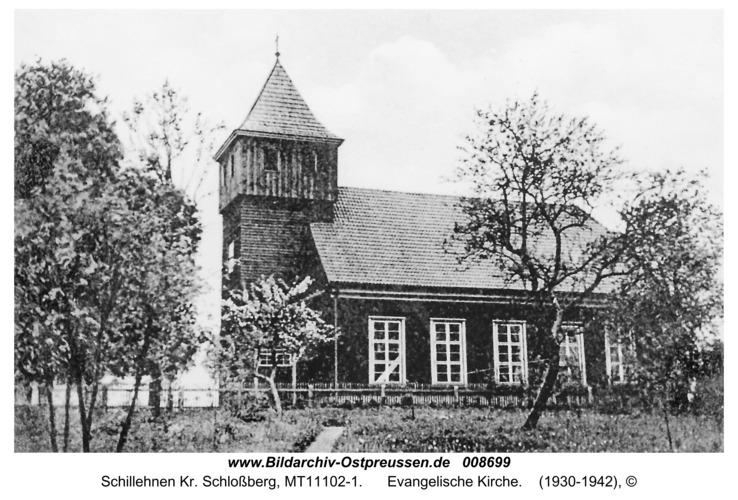 Schillfelde, Evangelische Kirche