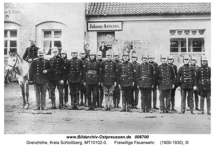 Grenzhöhe, Freiwillige Feuerwehr