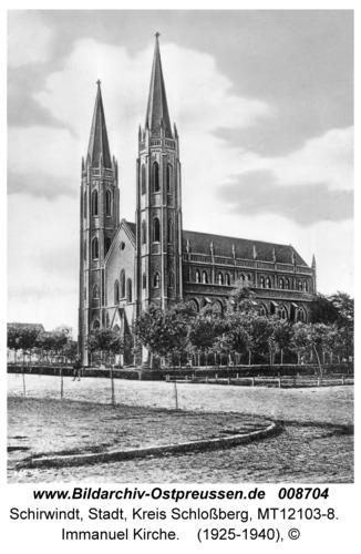 Schirwindt, Immanuel Kirche