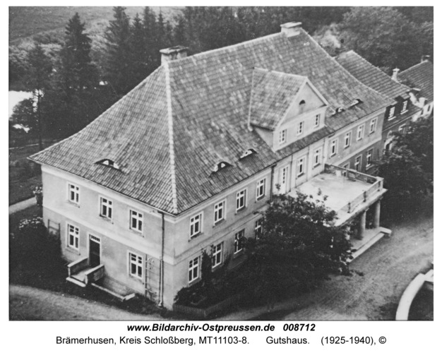 Brämerhusen, Gutshaus