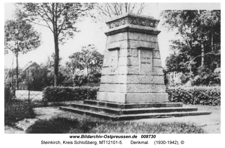 Steinkirch, Denkmal