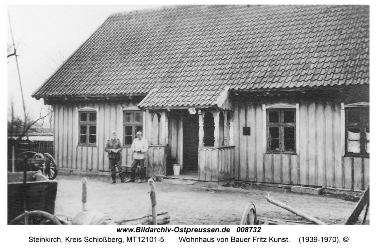 Steinkirch, Wohnhaus von Bauer Fritz Kunst