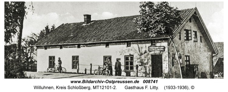Willuhnen, Gasthaus F. Litty