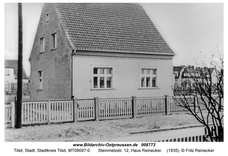 Tilsit, Steinmetzstr. 12, Haus Reinecker