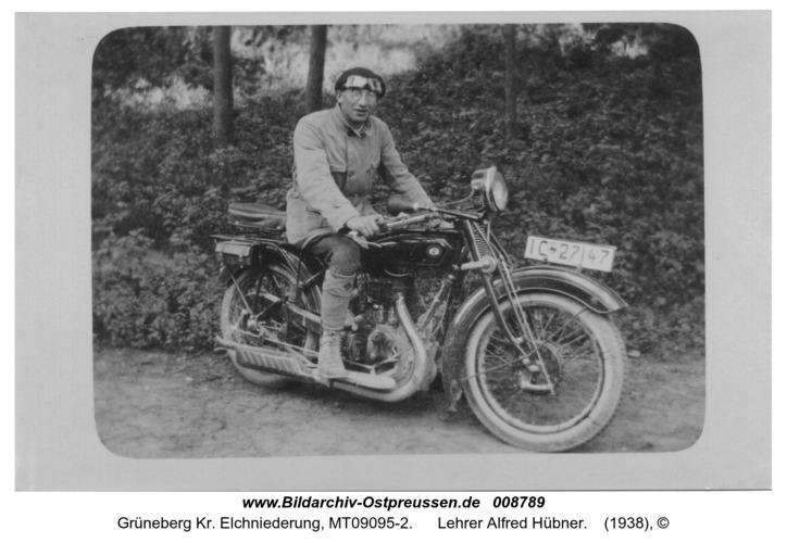 Grüneberg, Lehrer Alfred Hübner