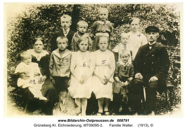 Grüneberg, Familie Walter