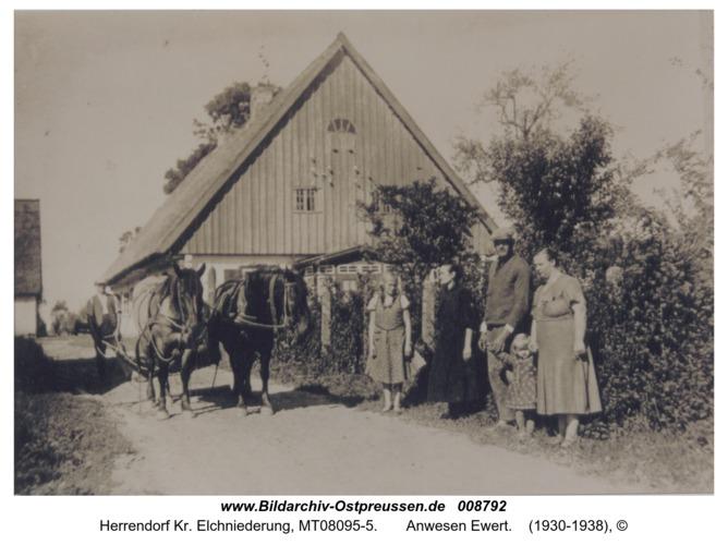 Herrendorf Kr. Elchniederung,  Anwesen Ewert