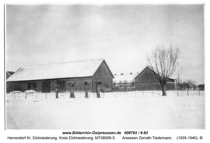 Herrendorf 3, Anwesen Zerrath-Tiedemann
