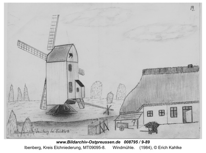 Ibenberg, Windmühle
