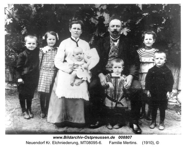 Neuendorf, Familie Mertins