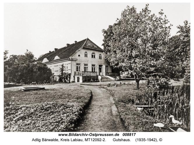 Adlig Bärwalde, Gutshaus