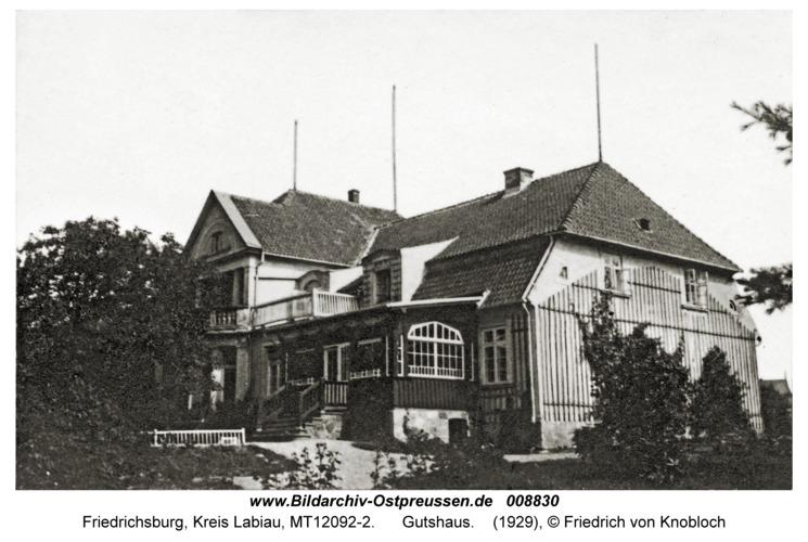 Friedrichsburg, Gutshaus