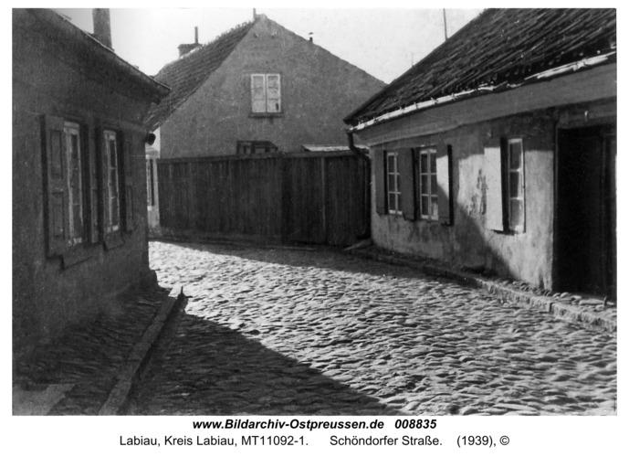 Labiau, Schöndorfer Straße