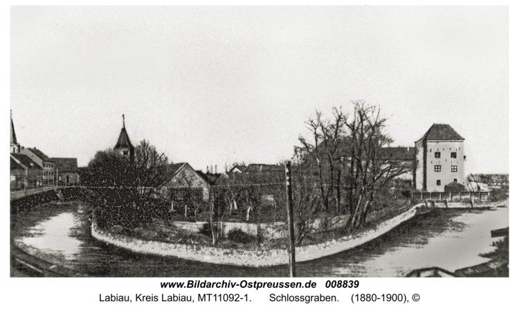 Labiau, Schlossgraben
