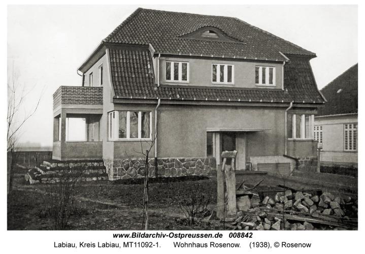 Labiau, Wohnhaus Rosenow