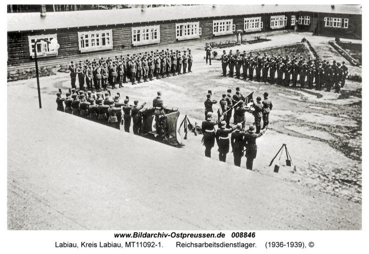 Labiau, Reichsarbeitsdienstlager