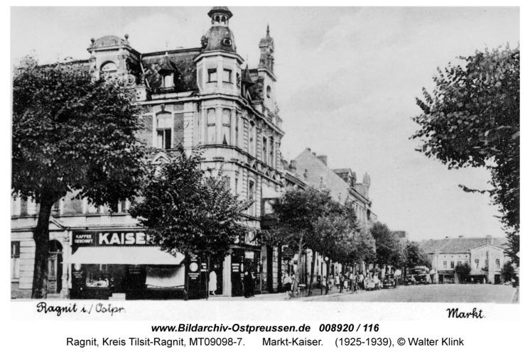 Ragnit, Markt-Kaiser