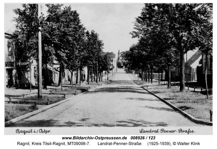 Ragnit, Landrat-Penner-Straße