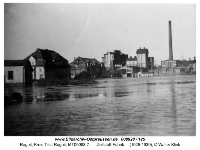 Ragnit, Zellstoff-Fabrik
