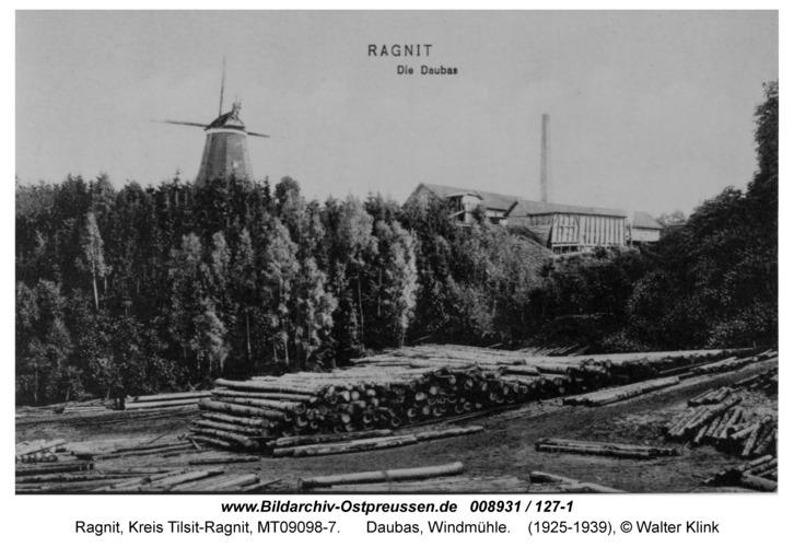 Ragnit, Daubas, Windmühle