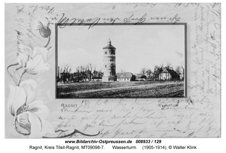 Ragnit, Wasserturm