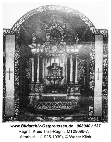 Ragnit, Altarbild