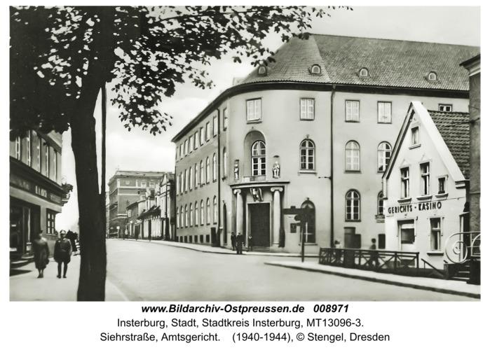 Insterburg, Siehrstraße, Amtsgericht