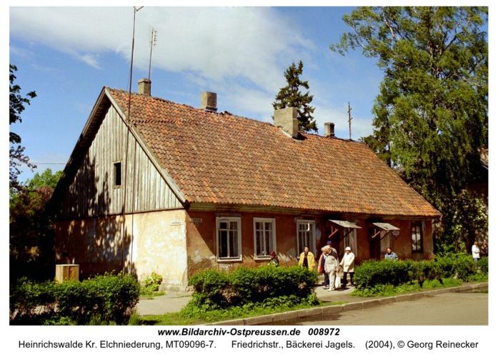 Heinrichswalde, Friedrichstr., Bäckerei Jagels
