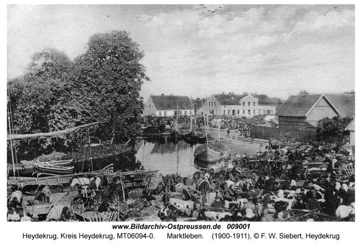 Heydekrug, Marktleben
