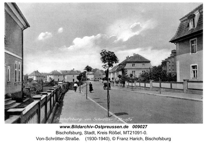 Bischofsburg, von-Schrötter-Straße
