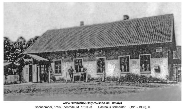 Sonnenmoor, Gasthaus Schneider