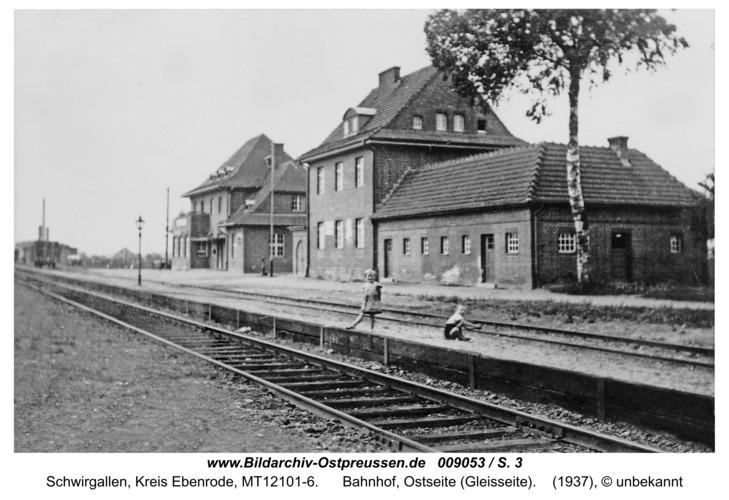 Eichhagen, Bahnhof, Ostseite