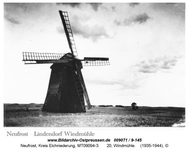 Neufrost / Lindendorf, 20, Windmühle