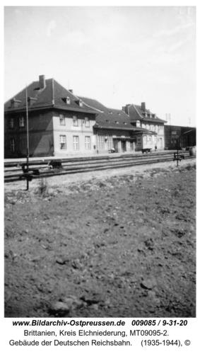 Brittanien, Gebäude der Deutschen Reichsbahn