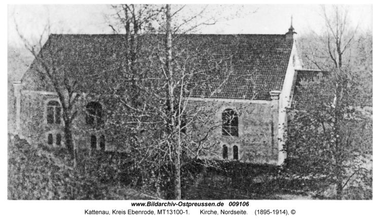 Kattenau, Kirche, Nordseite