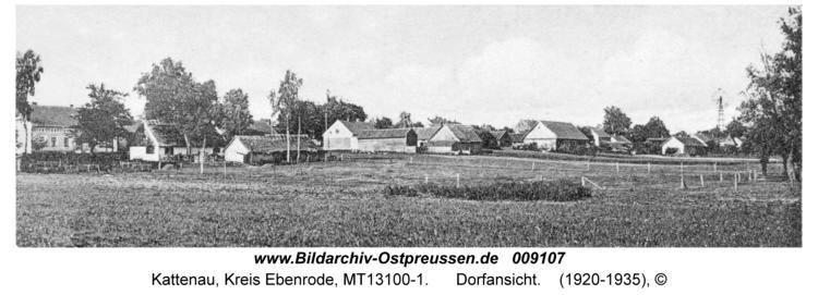 Kattenau, Dorfansicht
