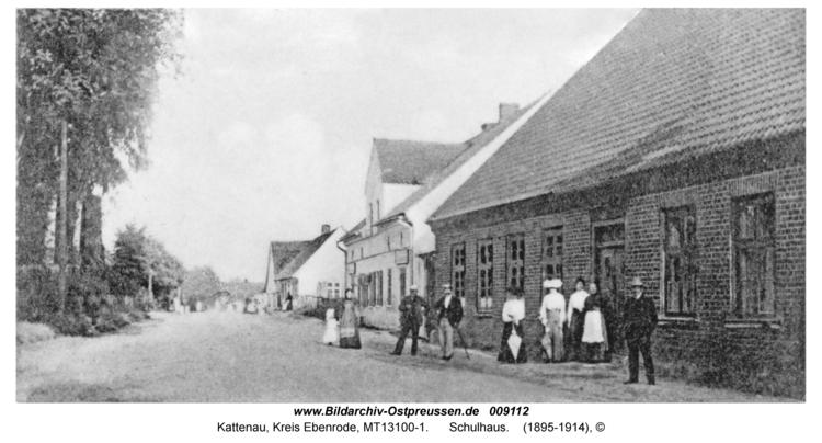 Kattenau, Schulhaus