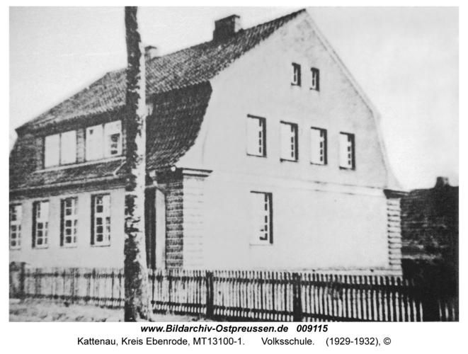 Kattenau, Volksschule