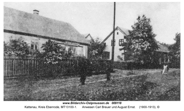 Kattenau, Anwesen Carl Breuer und August Ernst