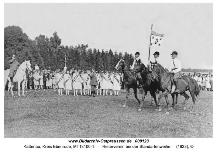 Göritten, Reiterverein bei der Standartenweihe